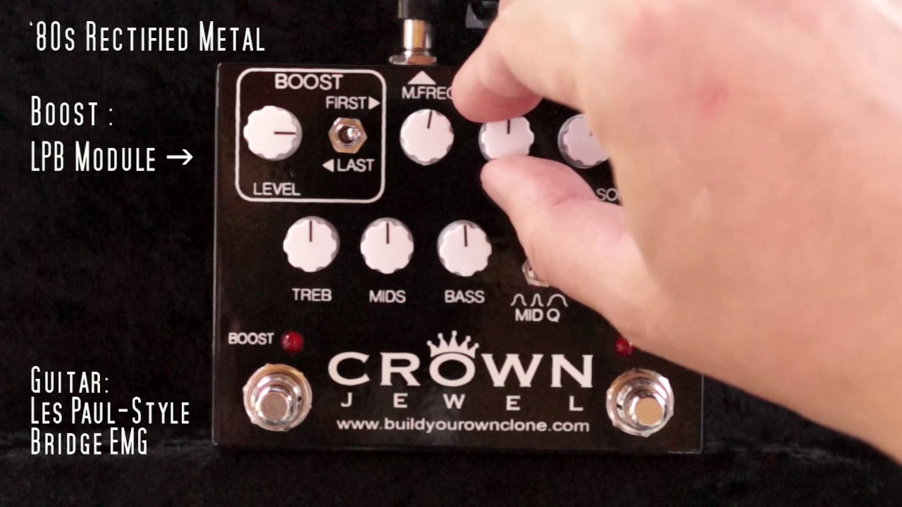 Guitar Pedal X - News - 2 Great Q-Control Drive and