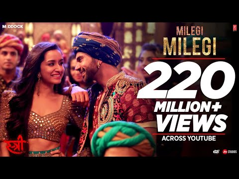 Milegi Milegi Video Song |  STREE |  Mika Singh | Sachin-Jig