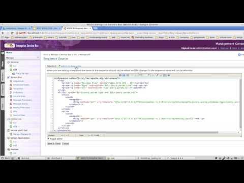 WSO2 Screencast: RESTful Integration with WSO2 ESB