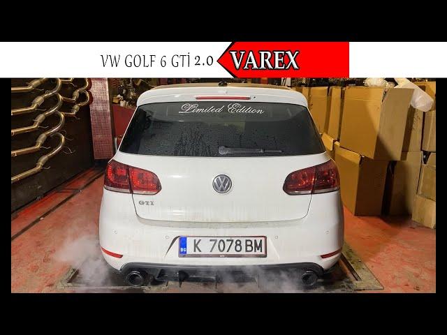 VW GOLF 6 GTİ 2.0 KUMANDALI VAREX VE YAZILIM