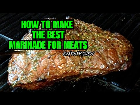 How To Make Tenderizing Marinade For Chuck Roast/Red Meats