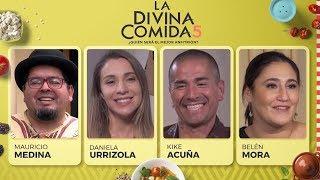 La Divina Comida - Kike Acuña, Belén Mora, Mauricio Medina y Daniela Urrizola