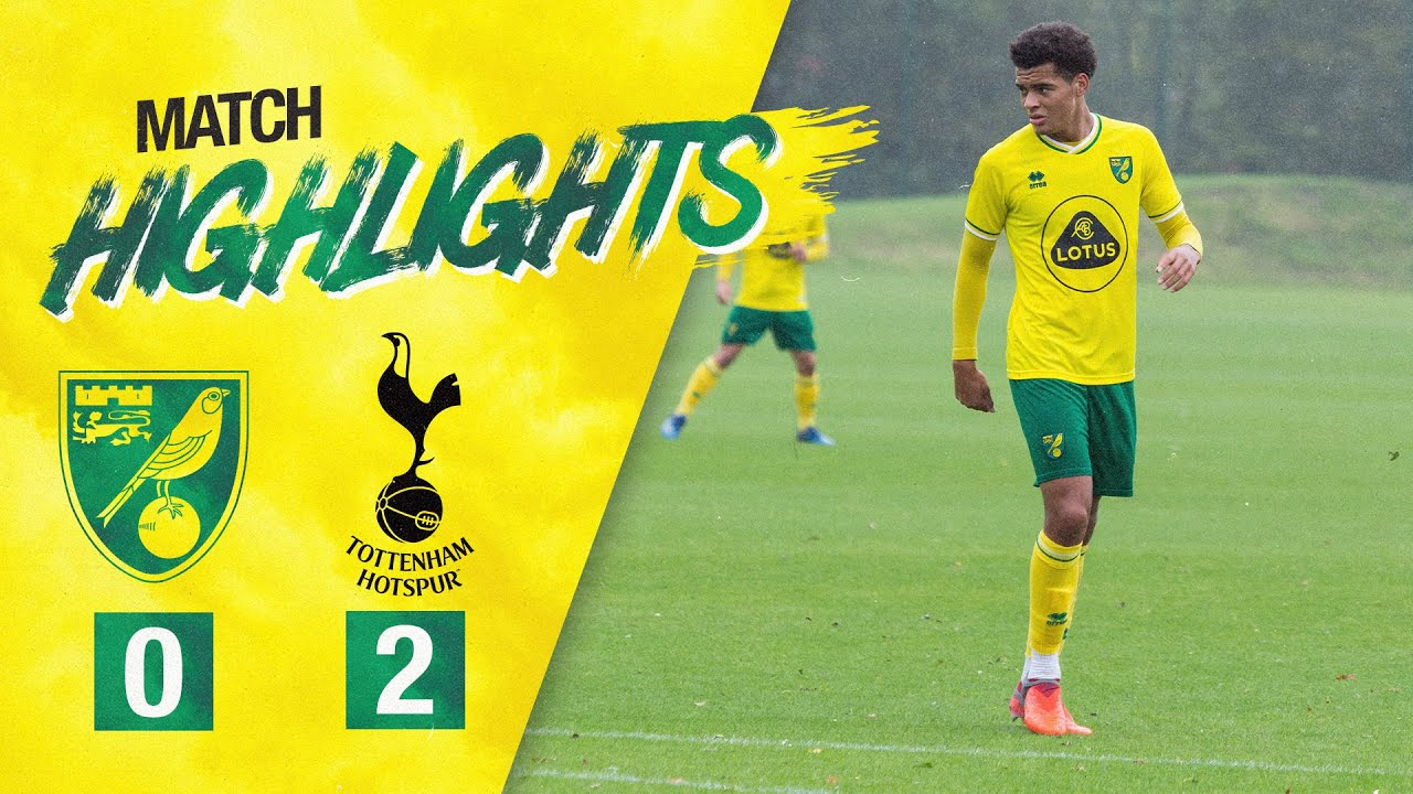 HIGHLIGHTS | Norwich City U18s 0-2 Tottenham U18s