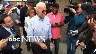 Joe Biden responds to President Trump's attacks