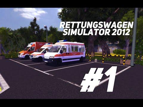 Rettungswagen Simulator 2012 #1 Первые вызовы...