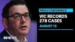 Victoria records 8 deaths and 278 new cases of coronavirus | ABC News