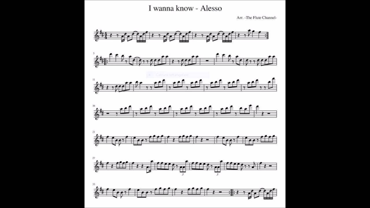 I wanna know alesso notes spartito sheet music youtube i wanna know alesso notes spartito sheet music hexwebz Image collections