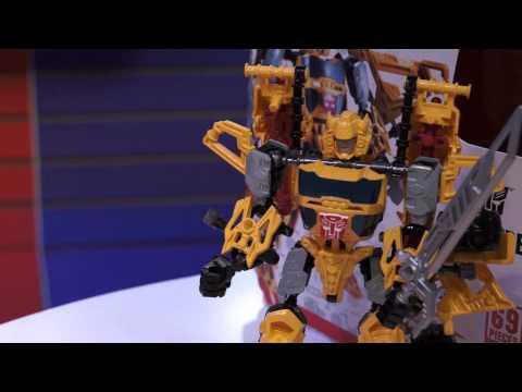 Toy Fair 2013 Transformers Construct-Bots Part 3