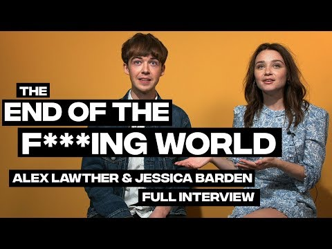 The End Of The F***ing World Season Two Interview: Alex Lawther And Jessica Barden