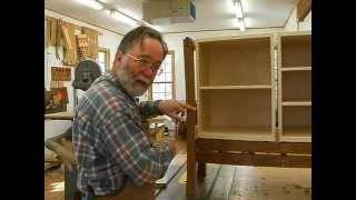 Making A Veneered Sideboard Part 6-2, Hinge Fitting: Andrew Pitts~furnituremaker