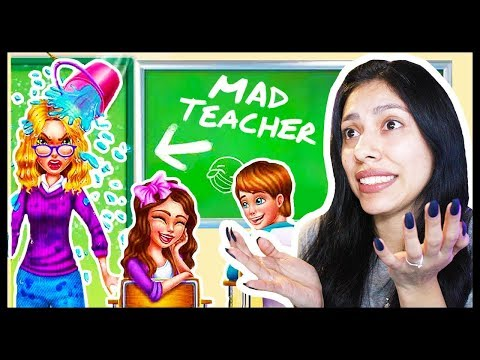 PRANKING MY TEACHER GONE WRONG! - MAD TEACHER - Classroom Makeover Madness ( App Game )