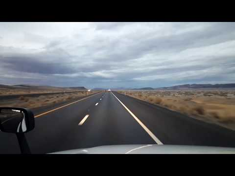 BigRigTravels LIVE! Fernley to Mill City, Nevada Interstate 80 East-Nov.23, 2017