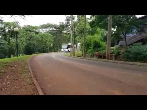 Kayoola Solar Bus transporting UNEA2 Delegates