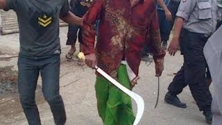 Detik Detik pembantaian / CAROK suku madura terekam kamera ,Sampang - Madura