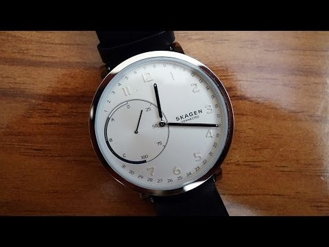 """What is a """"Hybrid Smartwatch""""? The Skagen Hagen Connected Review - Perth WAtch #43"""