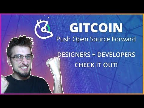 GitCoin: Designers/Developers Should Be Really Excited!