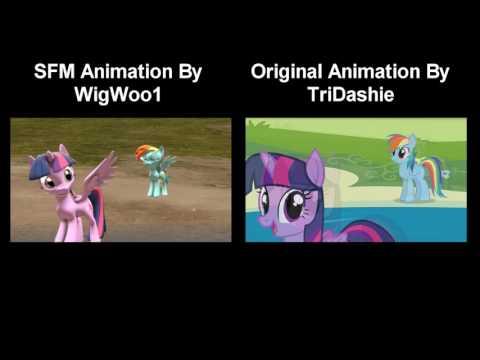Pony Girl [SFM]  - Comparison
