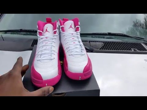 online store 4129a 8eb6f Air Jordan 12 `Dynamic Pink Valentines Day` Review!! by Supa Dupa Rupa