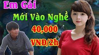 Tèo 2k5 Giả Ngu Troll Em Gái Mới Vào Nghề 40,000 VNĐ/2h | ThrowThi