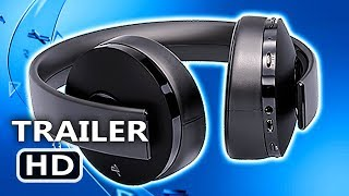PS4 - Gold Wireless Headset Trailer (2018)