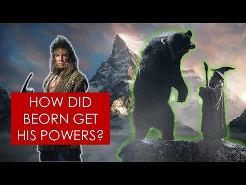 Download Youtube: Middle-earth Mysteries: How Beorn got his powers? THEORY [Lord of the Rings l The Hobbit]