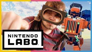 80€ für Robo-Pappe - NINTENDO LABO ROBO-KIT