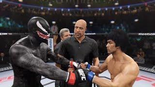 Bruce Lee vs. Venom (EA Sports UFC 2) - CPU vs. CPU