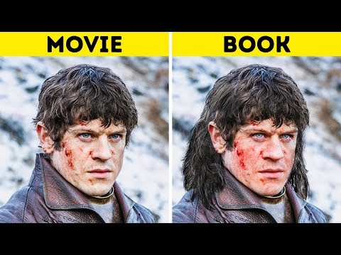 Download Youtube: Game of Thrones Characters: In the Books Vs. On the Show