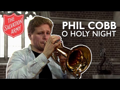 Phil Cobb performs O Holy Night with the International Staff Band