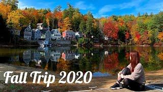 Fall Hiking Trip to Lake Winnipesaukee New Hampshire, New England Fall Vibes
