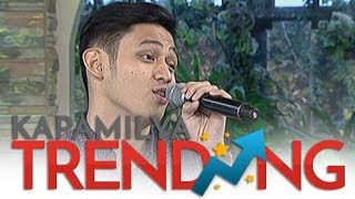 Michael Pangilinan sings I'll Make Love To You