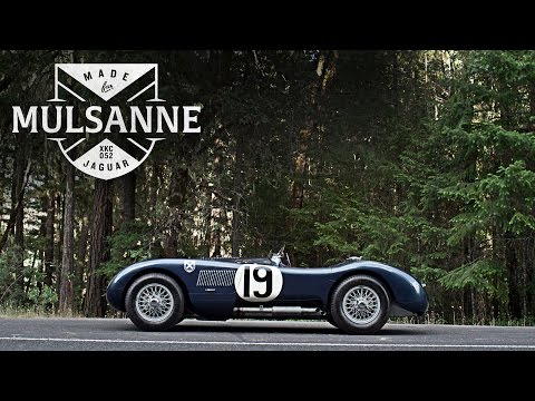 This Jaguar C-Type Was Made For Mulsanne