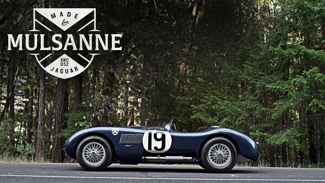 This Jaguar C Type Was Made For Mulsanne