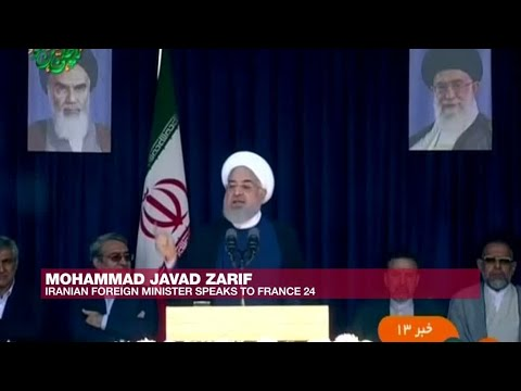 'We're already at war economically,' Iranian Foreign Minister Zarif tells FRANCE 24