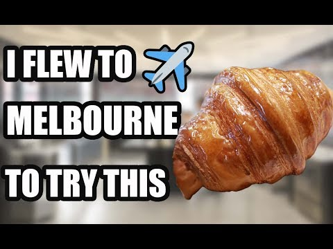I Flew To MELBOURNE To Try The BEST CROISSANT In The WORLD | LUNE CROISSANTERIE 2019