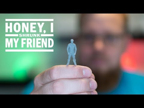 3D Scanning and 3D Printing a Personalized Miniature Figurine
