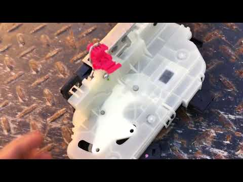 2009-2014 FORD F-150 DOOR LOCK ACTUATOR LATCH REPLACEMENT HOW TO