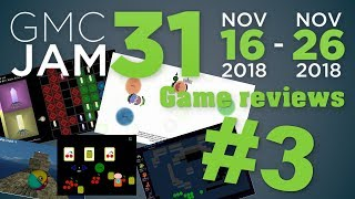 GMC JAM 31 - Games Review #3