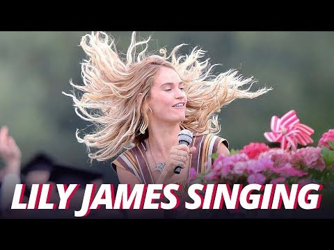 Mamma Mia 2 Lily James Singing