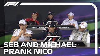 When Michael Schumacher and Sebastian Vettel Pranked Nico Rosberg