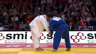 Guram Tushishvili GEO -  Kokoro Kageura JPN 0:1 +100Kg Grand Slam Paris 2018 Semi Final