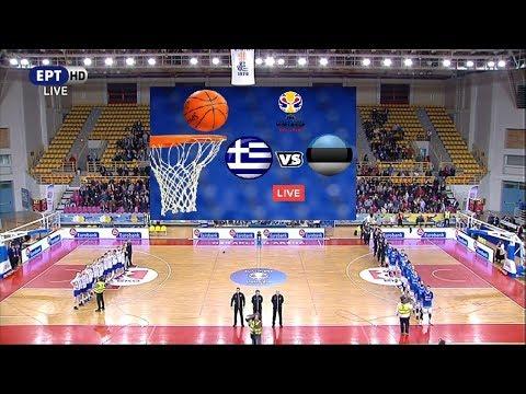 Ελλάδα - Εσθονία 87-75 Highlights | Προκριματικά Π. Κ. 2019 {23.2.2018}