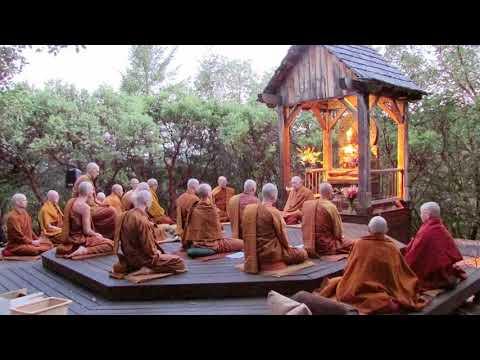 Pali Chanting In The Abhayagiri Buddhist Monastery - Theravada Buddhism