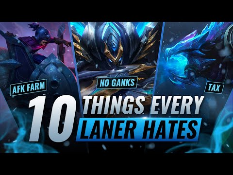 10 Things Junglers Do That Laners Hate In League Of Legends Season 11 Youtube