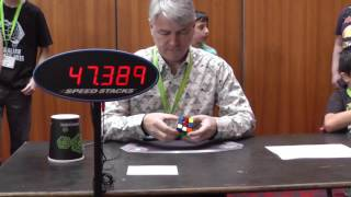 Feliks Zemdegs world records set to be smashed by his father!