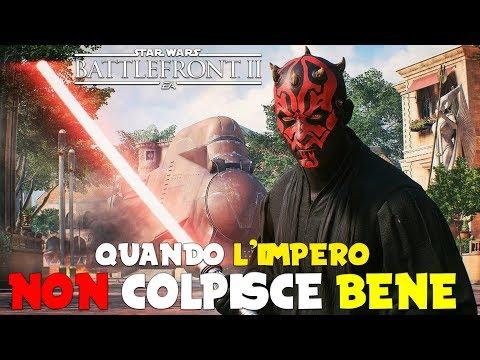 Star Wars Battlefront 2 - L'IMPERO NON COLPISCE - Multiplayer Gameplay ITA