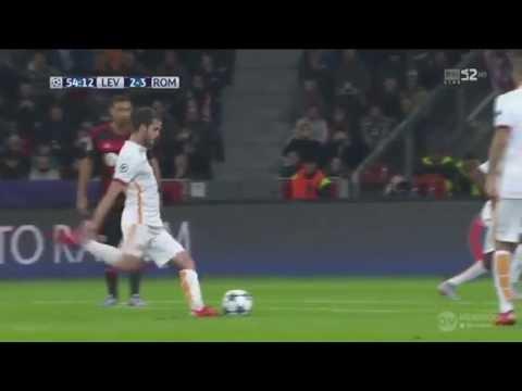 Miralem Pjanic - All free kick goals for A.S.Roma HD