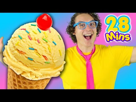Ice Cream Song and More | Kids Nursery Rhymes from Bounce Patrol