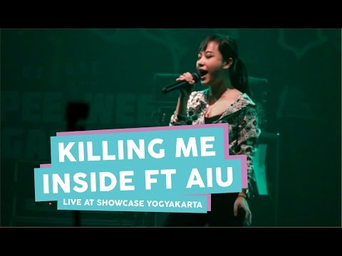 [HD] Killing Me Inside Ft AIU - Biarlah + The Tormented + Young Blood (Live at SHOWCASE Yogyakarta)