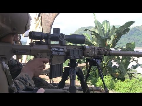 Phiblex 33 - Philippines and US Troops in Sharpshooter Skills